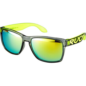 Rudy Project Spinhawk Loud Sunglasses crystal ash yellow fluo - rp optics multilaser lime